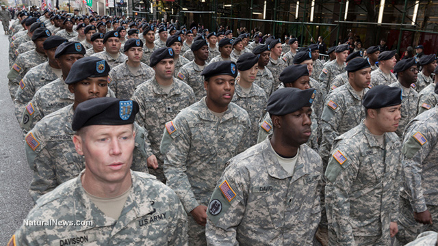 Editorial-Use-Veterans-Day-Parade-Military-Soldiers