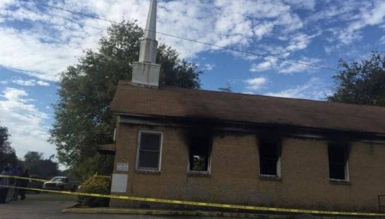 Remember that black church burned by a 'Trump supporter'? Yeah, a black church member did it